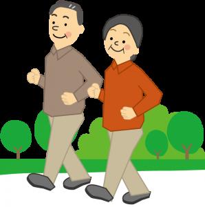 歩く 高齢者